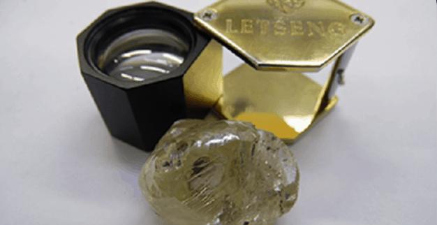 יהלום צהוב גדול ג'ם