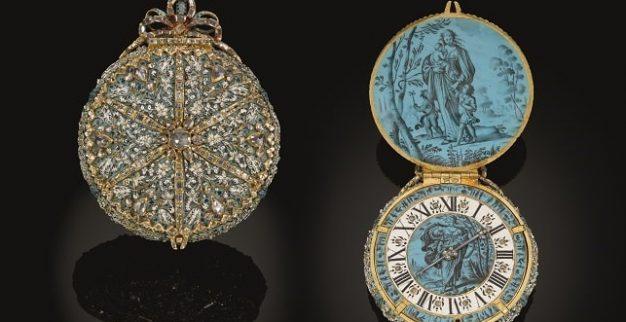 שעון יהלומים אמייל סותביס