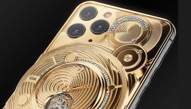 אייפון זהב יהלומים Caviar