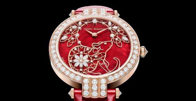 הארי ווינסטון חושפת שעון משובץ ב-109 יהלומים