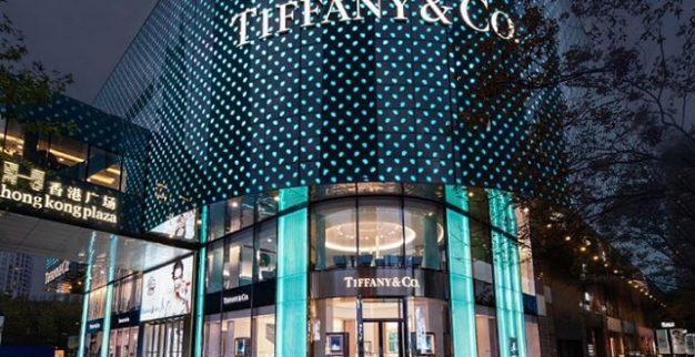 חנות הדגל של ענקית התכשיטים טיפאני בשנחאי, סין