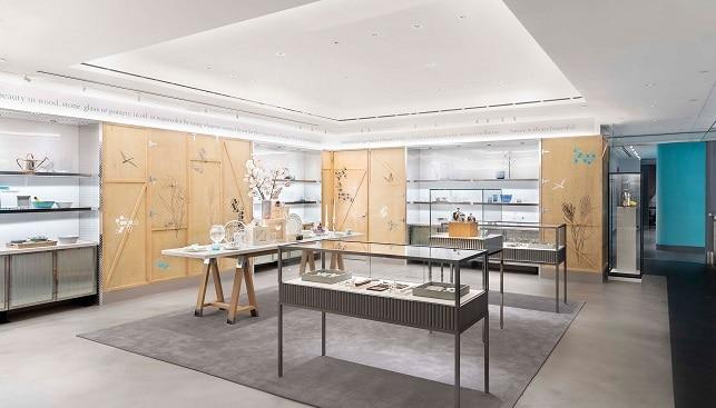 חנות הדגל של ענקית התכשיטים טיפאני בניו יורק