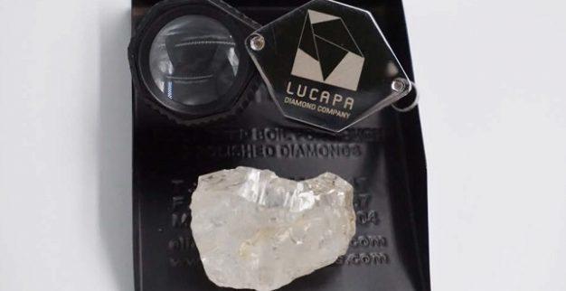 לוקפה יהלום ענק אנגולה