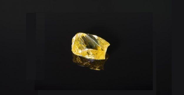 אלרוסה יהלום צהוב גדול