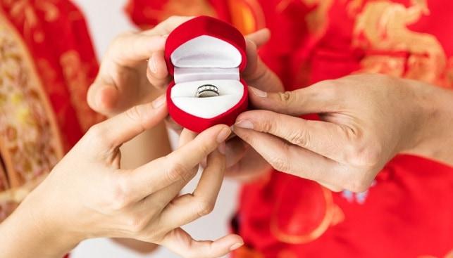 סין תכשיטים טבעת יהלומים