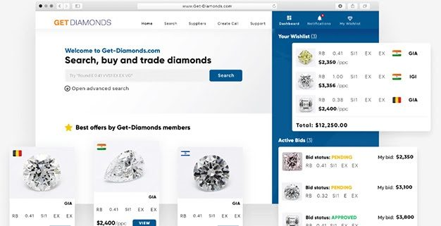 get diamonds יהלומים ישראל