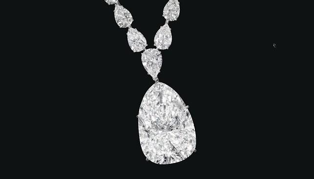 שרשרת יהלום ענק כריסטיס