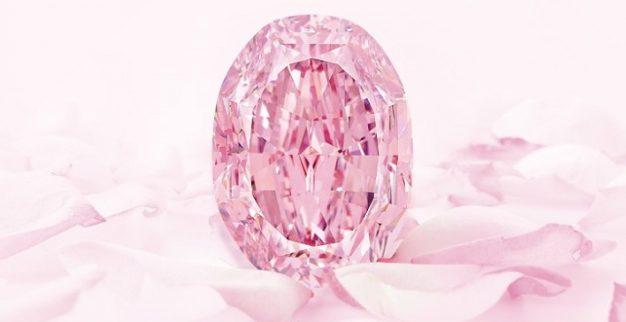 היהלום הוורוד spirit of rose סותביס