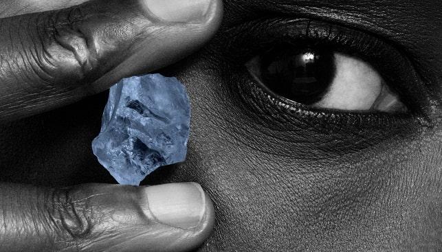 קולקציית היהלומים הכחולים לטלאפה של פטרה