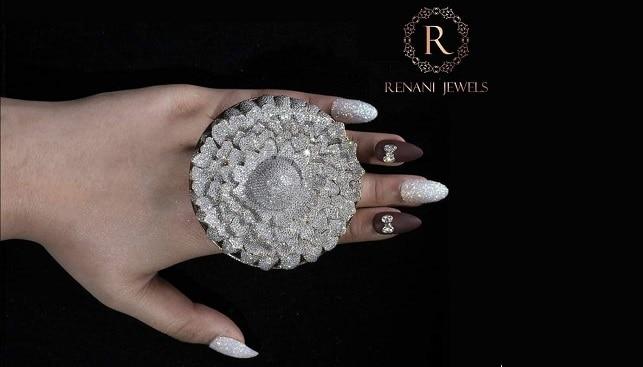 טבעת יהלומים מריגולד הודו
