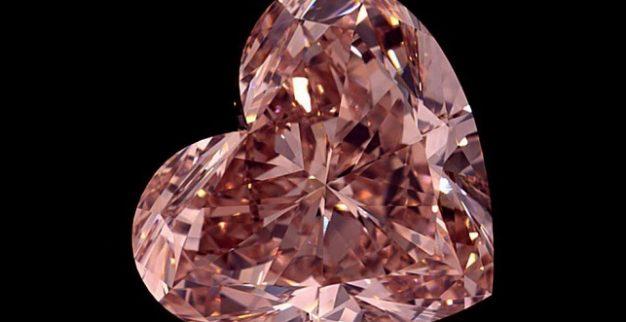 יהלום ורוד לב לוקרה