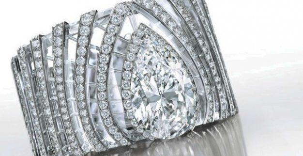קרטייה צמיד יהלומים לבנים