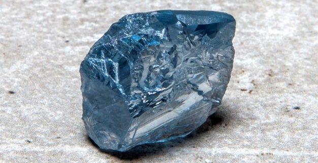 פטרה יהלום כחול גדול