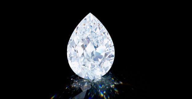 יהלום לבן ענק סותבי'ס