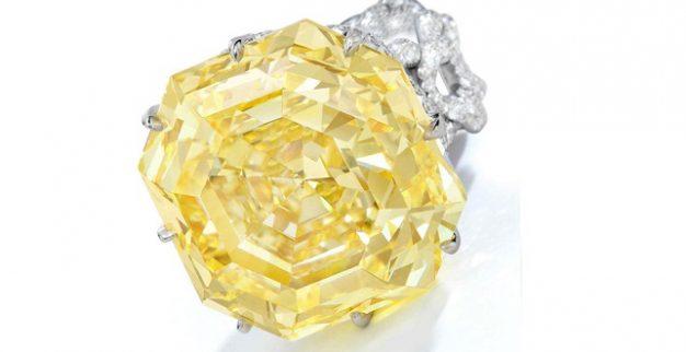 יהלום צהוב 73 קרט סותביס