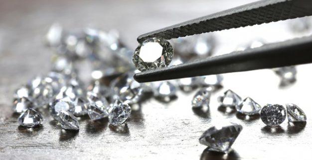 יהלומים מלוטשים יהלומים לבנים