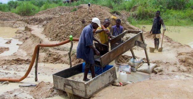 כריית יהלומים ידנית איכות הסביבה