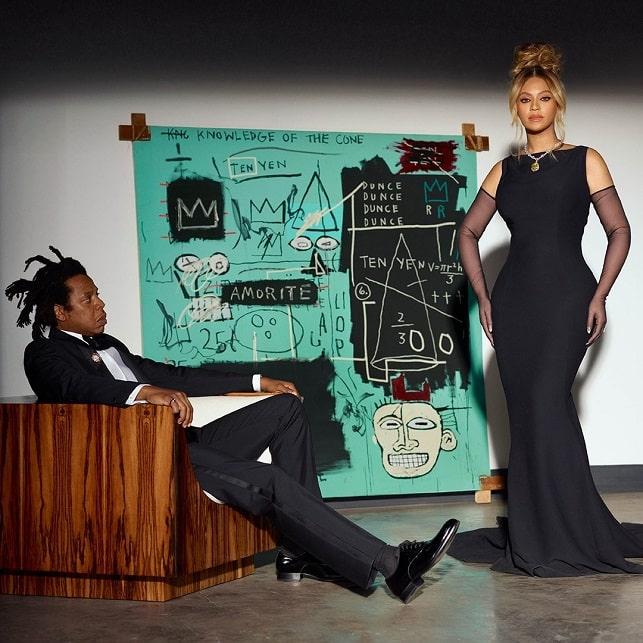 ביונסה ג'יי זי תכשיטי יהלומים קמפיין טיפאניס