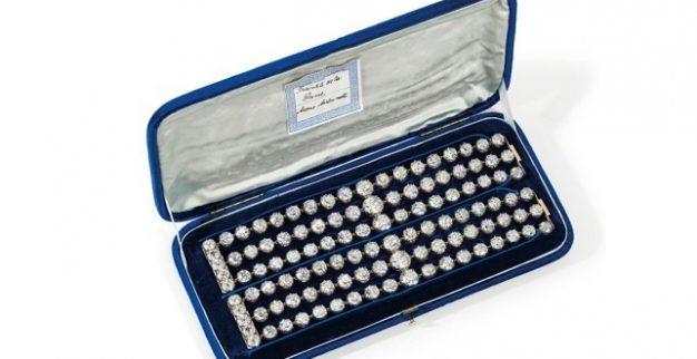 מארי אנטואנט תכשיטים יהלומים