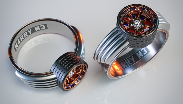 מיני קופר טבעת יהלום